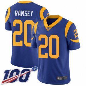 Rams Jalen Ramsey 100th Season Jersey 2